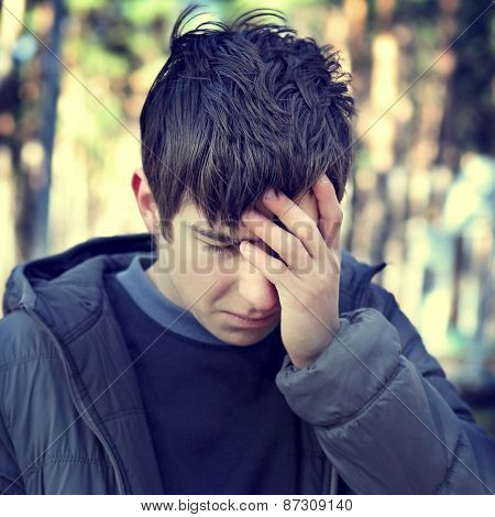 Sorrowful Young Man