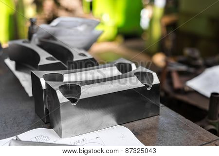 Polished steel products