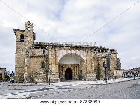 Church Of San Pedro In Fromista