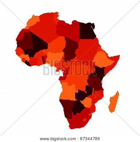 Africa map