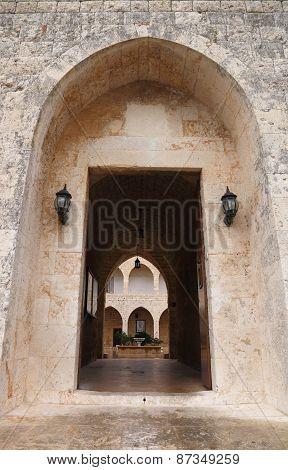 Monastery Entrance, Lebanon