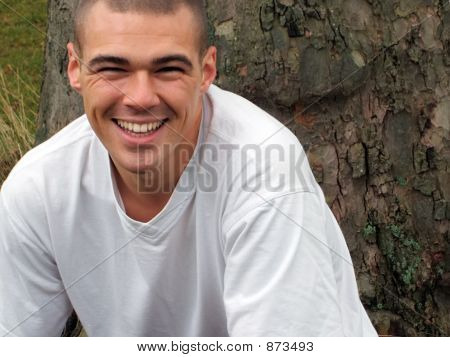 Cute Man Smiling