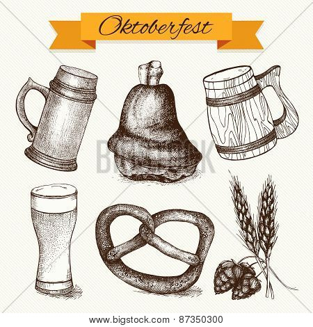 Oktoberfest traditional food