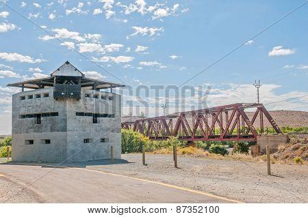 Blockhouse At The Geelbek River Railway Bridge