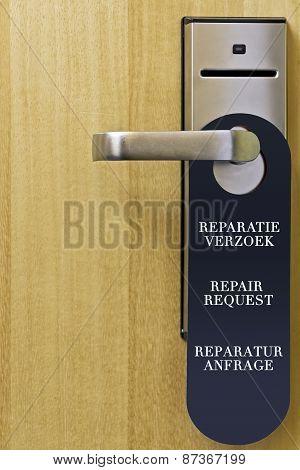 Repair request
