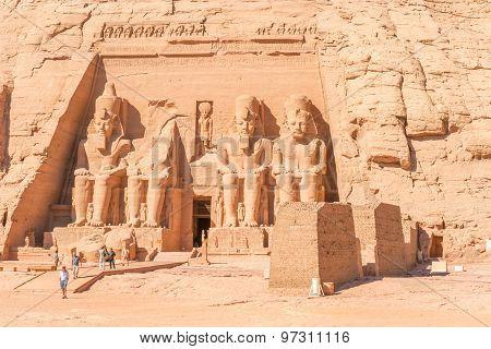 Abu Simbel Temple Of King Ramses Ii ( Egypt)