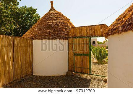 Nubian Village In Dongola, Sudan