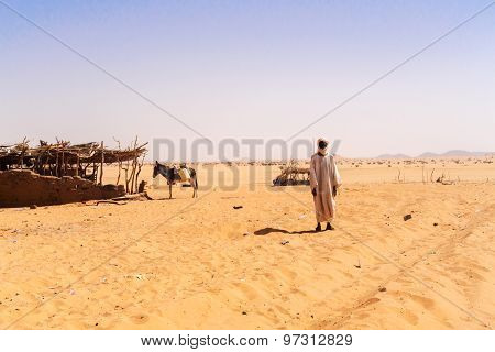 House On The Sahara Desert.