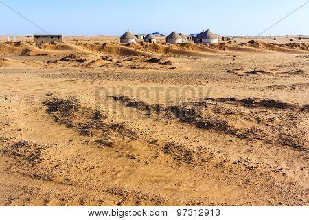 Nubian Village In Sudan