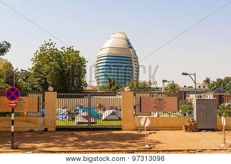 View At Burj Al-fateh Hotel In Khartoum