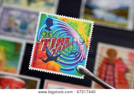 A British Stamp About Time Travel (editorial)