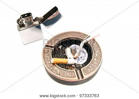 Hazards Of Smoking For Procreation Concept