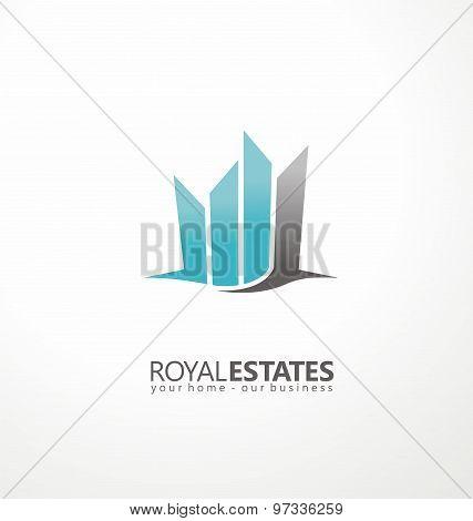Real estate logo idea