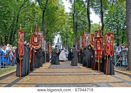 Kiev - July 27: 1000Th Celebration Anniversary Of The Repose Of St. Vladimir On July 27,2015 In Kiev