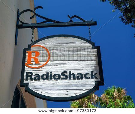 Radioshack Store And Sign