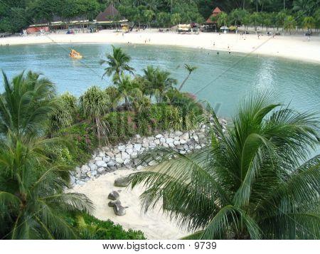 Sentosa Palawan Beach