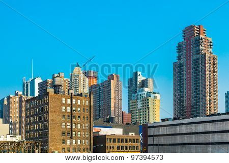 Cityview Of New York From The Eastside