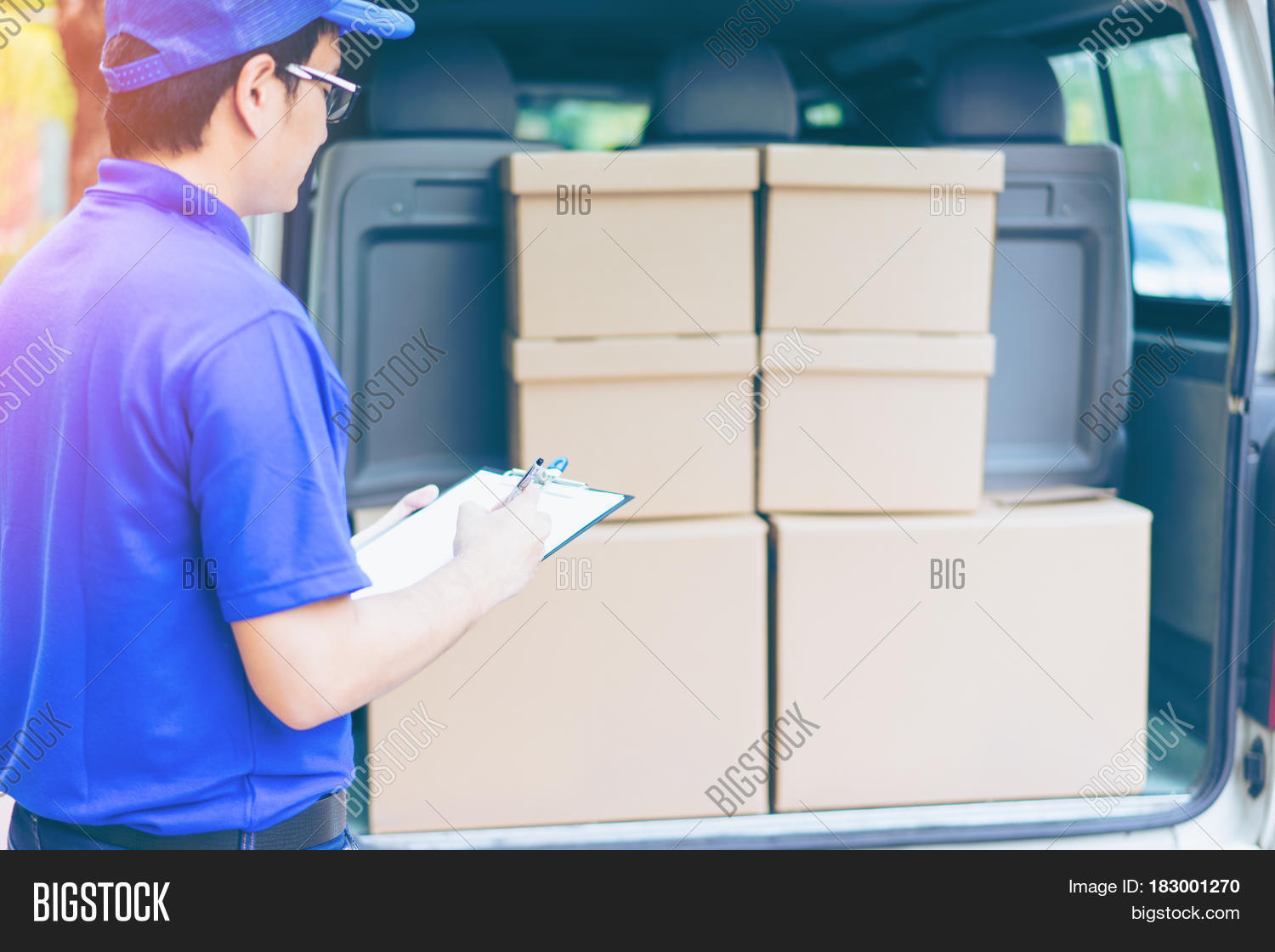 Delivery Concept - Image & Photo (Free Trial) | Bigstock