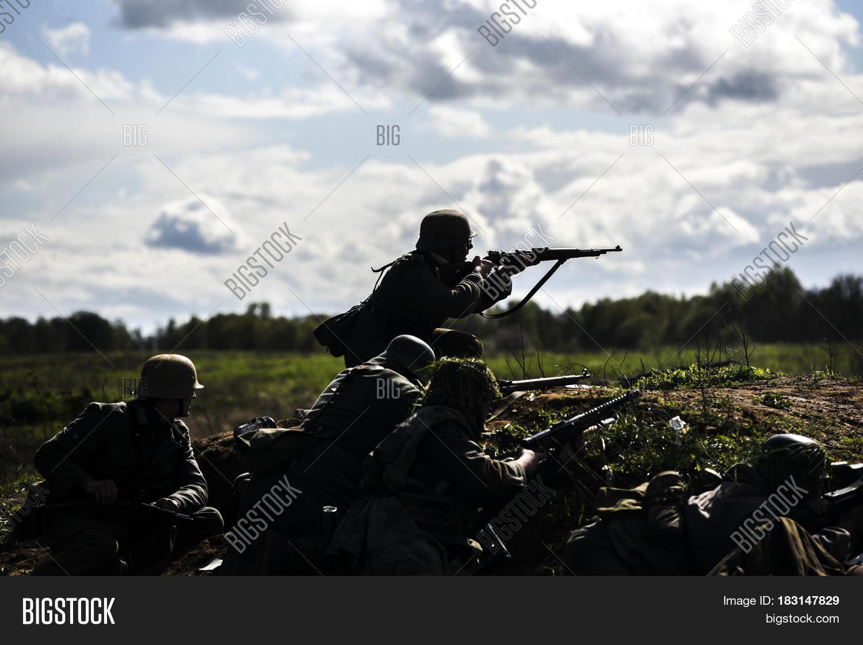 German Soldiers  Image & Photo (Free Trial) | Bigstock