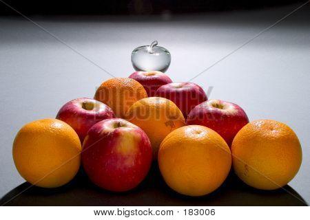 Apples Oranges N Glass Apple