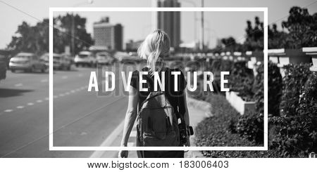 Adventure Travel Trip Exploration Word