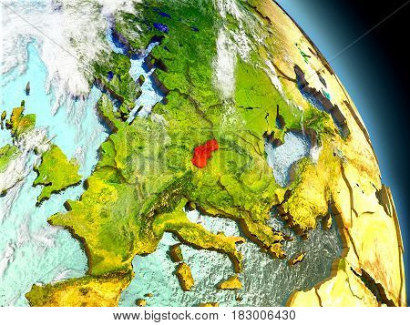 Slovakia From Space