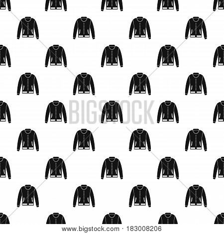 Jacket pattern seamless in simple style vector illustration