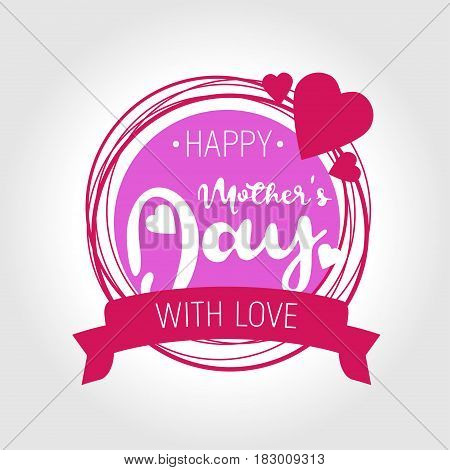 Happy Mother S Day. Vector.can Be Used To Design Postcards.