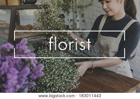 Flower Blooms Florist Botanic Graphic
