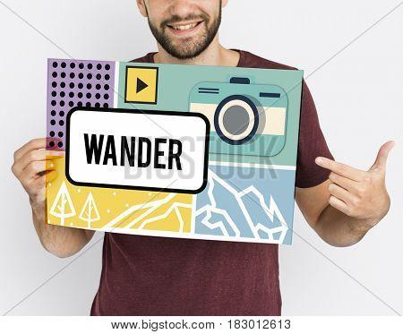 Adventure Trip Tour Discovery Concept