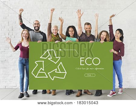 Nature Environment Eco Friendly Recycle Symbol Sign