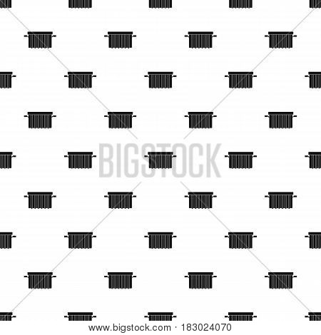 Garbage tank pattern seamless in simple style vector illustration