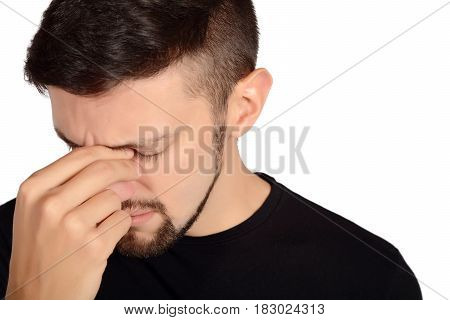 Young Sad Man.