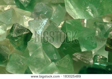 Fluorite Mineral Texture