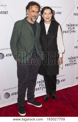 2017 Tribeca Film Festival - Talks - Alejandro Gonzalez Inarritu