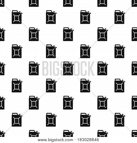 Fuel jerrycan pattern seamless in simple style vector illustration