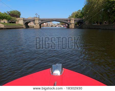 River Ouse in York, U.K