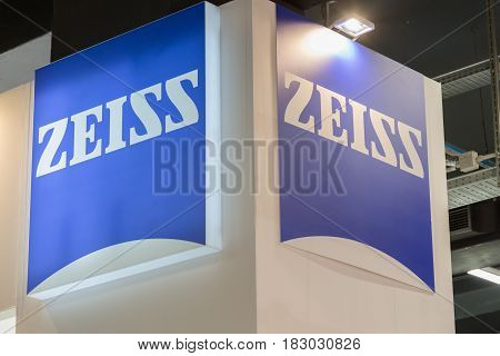 Zeiss Stand At Technology Hub In Milan, Italy