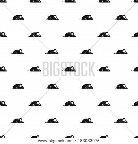 Pet mouse pattern seamless in simple style vector illustration
