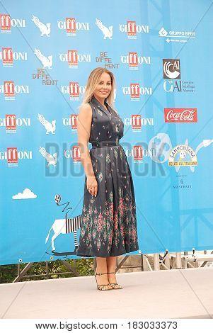 Giffoni Valle Piana Sa Italy - July 27 2014 : Ornella Muti at Giffoni Film Festival 2014 - on July 27 2014 in Giffoni Valle Piana Italy