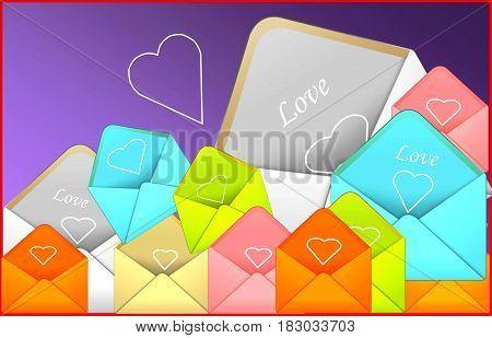 LOVE LETTER. love lettering, love letter envelope