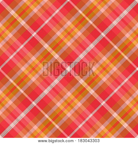 Vector illustration of fabric. Seamless diagonal pattern in the cell.Suitable for fabric textile wallcovering gift paper and a different design.