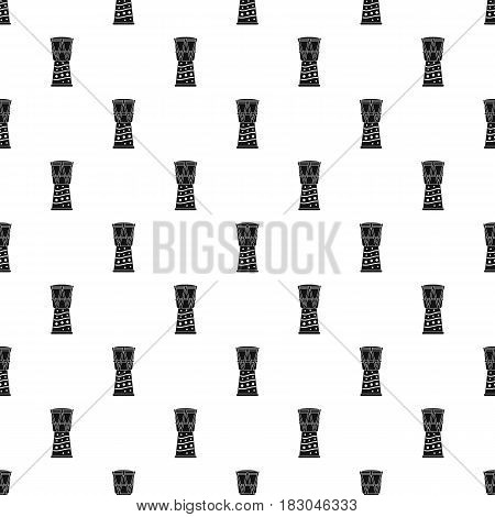 Tamtam pattern seamless in simple style vector illustration