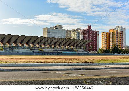 Cuban Football Field - Havana, Cuba