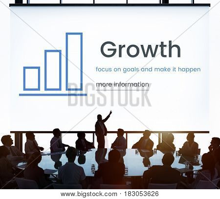 Business Evaluation Information Growth Concept
