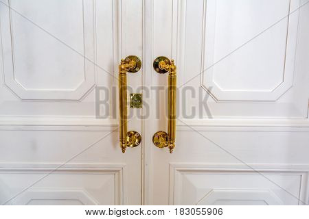 Golden Door Handle