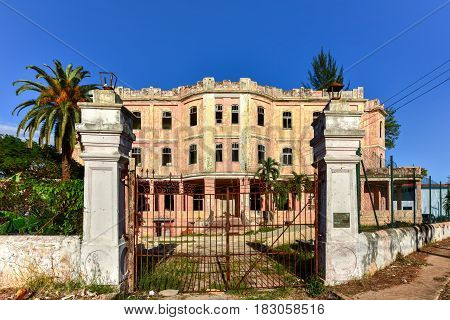 Federation Of Cuban Women Building - Havana, Cuba