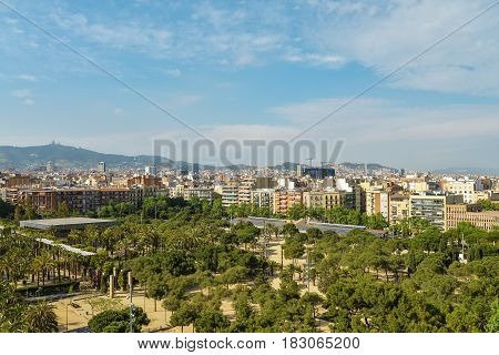 View From Arenas De Barcelona