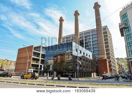 Building Of Red Electrica De Espana