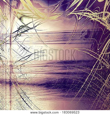 Colorful abstract retro background, aged vintage texture. With different color patterns: yellow (beige); brown; pink; blue; purple (violet)